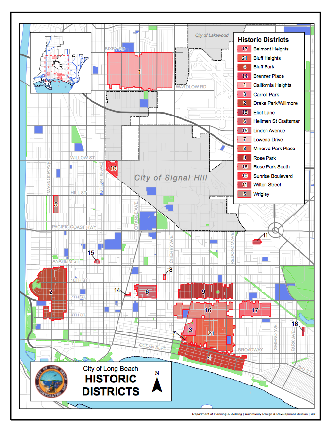 Long Beach Historic Districts – MIKE NORTON